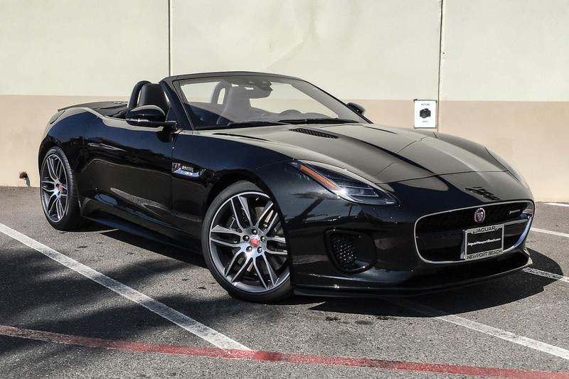 New 2019 Jaguar F Type R Dynamic Convertible In Newport Beach