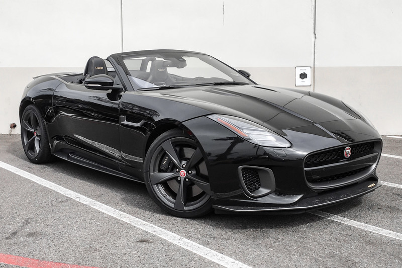 Exceptional New 2018 Jaguar F TYPE 400 Sport