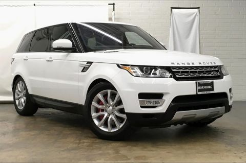 Certified Pre-Owned 2016 Land Rover Range Rover Sport V8